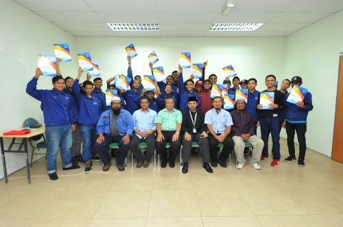 2019 : Majlis Penutup Dan Penyampaian Sijil Tamat Kursus Kimpalan Certified Welder (CW) Anjuran Lembaga Zakat Selangor Dan SIRIM STS